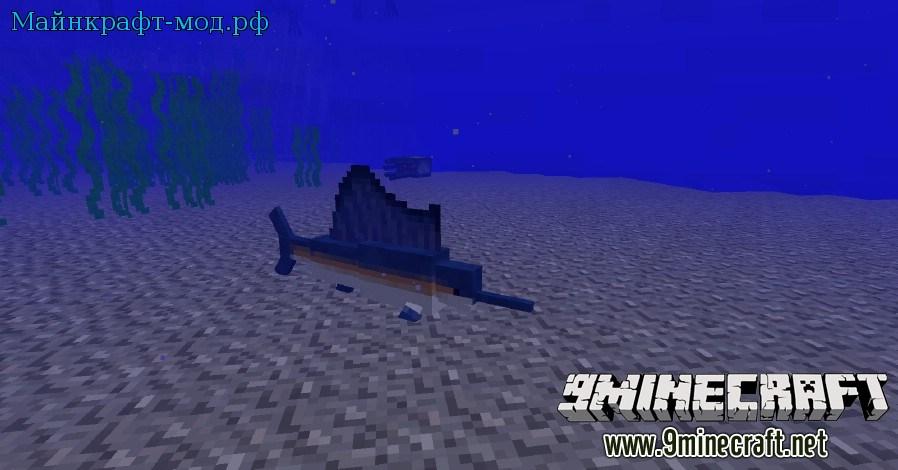 риф с рыбами майнкрафт