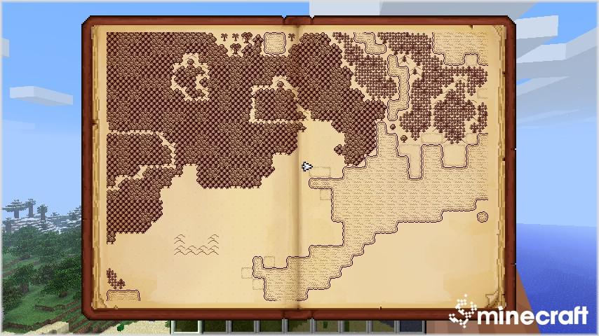 Мод мини карта для Майнкрафт