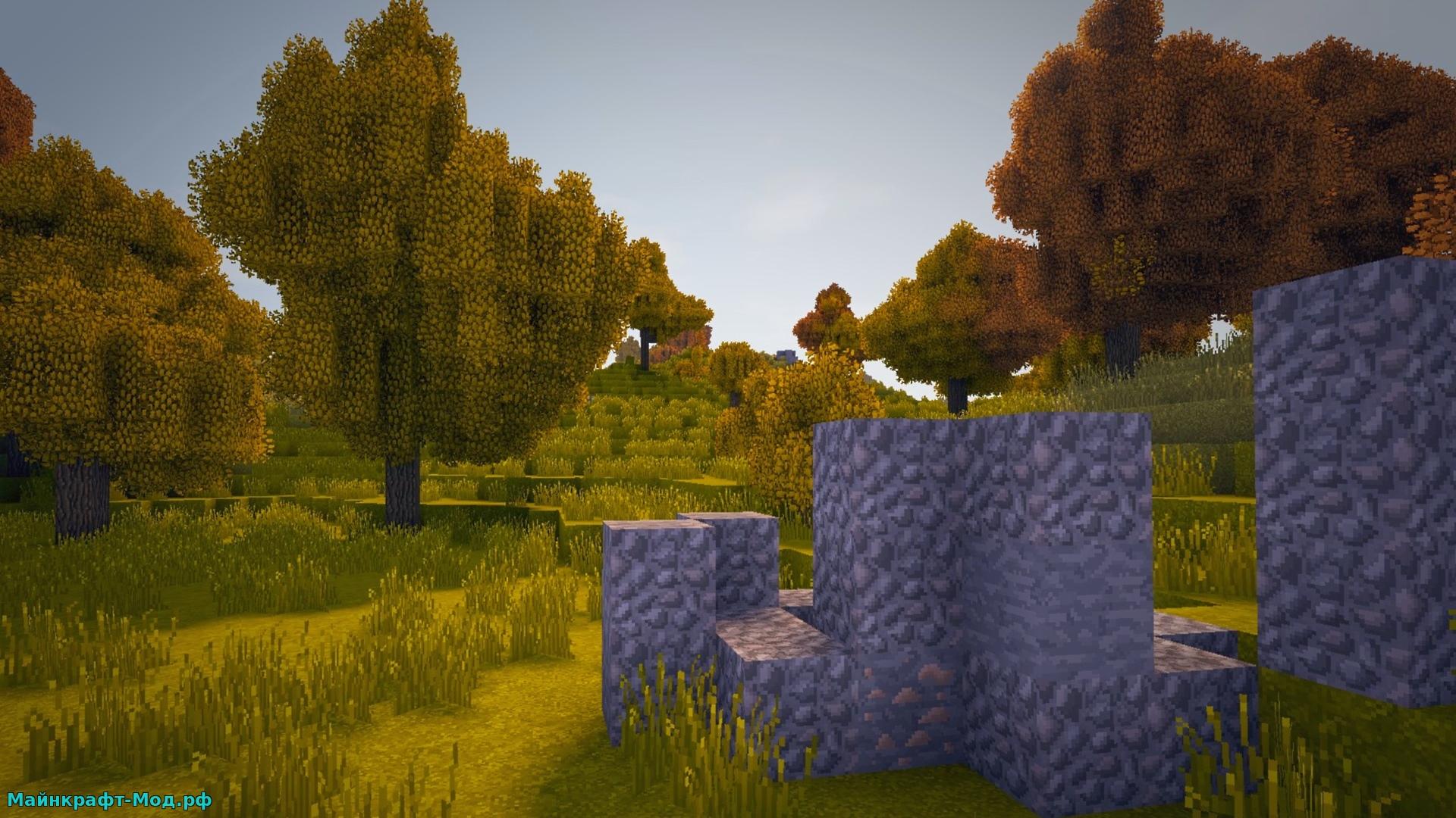 Красивые биомы на Майнкрафт