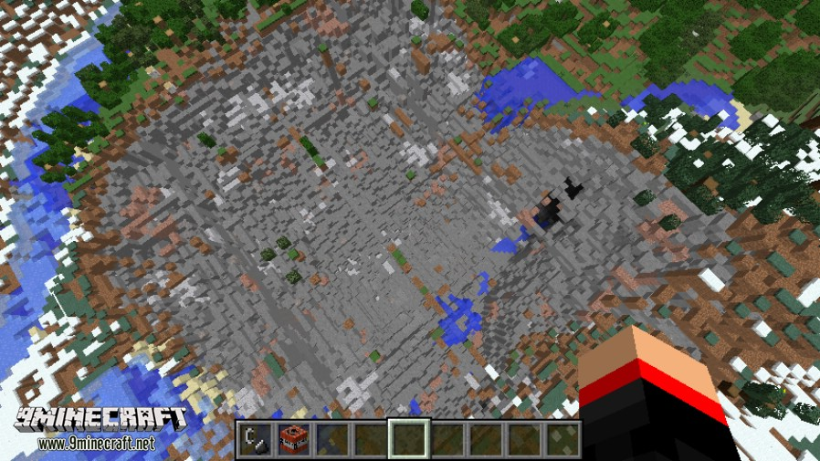 Мод на динамиты для Minecraft