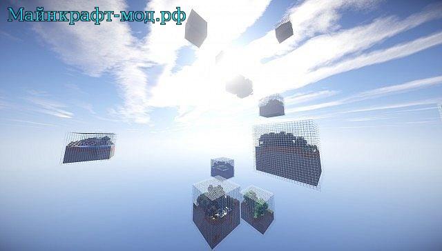 Cube world мод