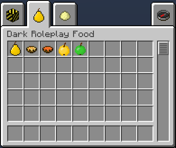 Новая еда на Майнкрафт