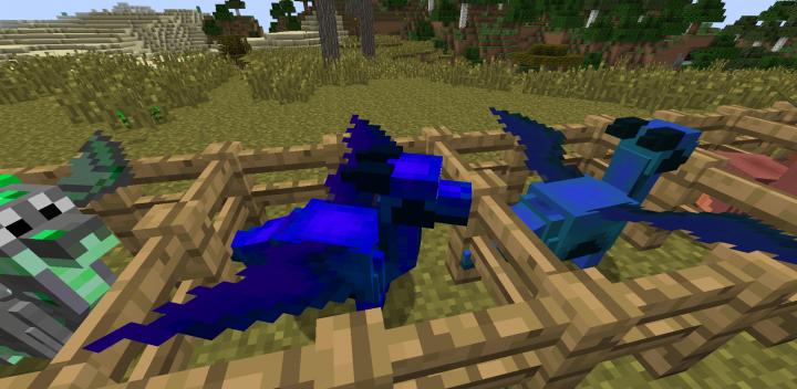 Minecraft мод на драконов