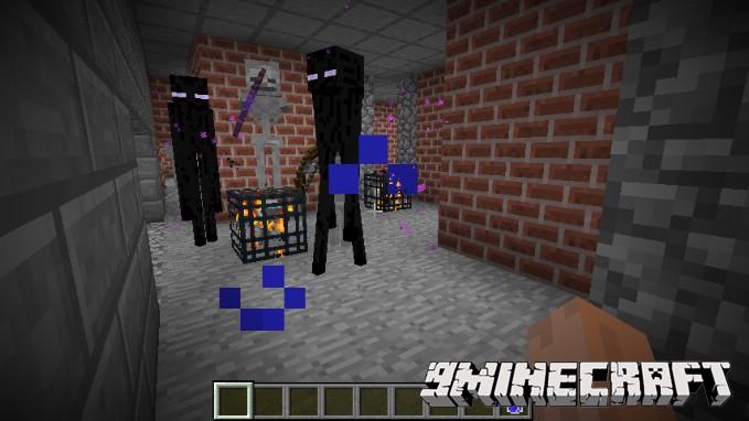 Подземный мир Дум для Майнкрафт