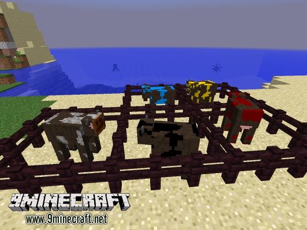 Коровы на Майнкрафт