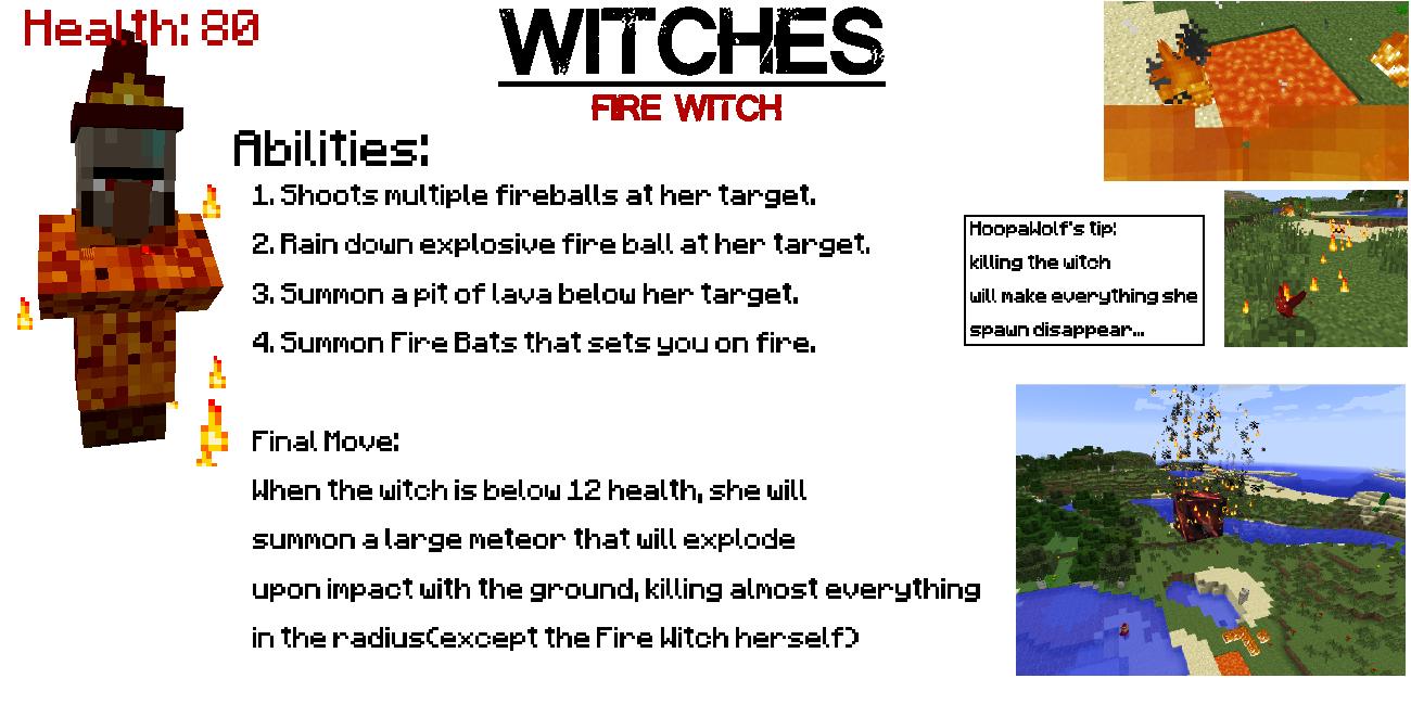 Мод на ведьм для Майнкрафт