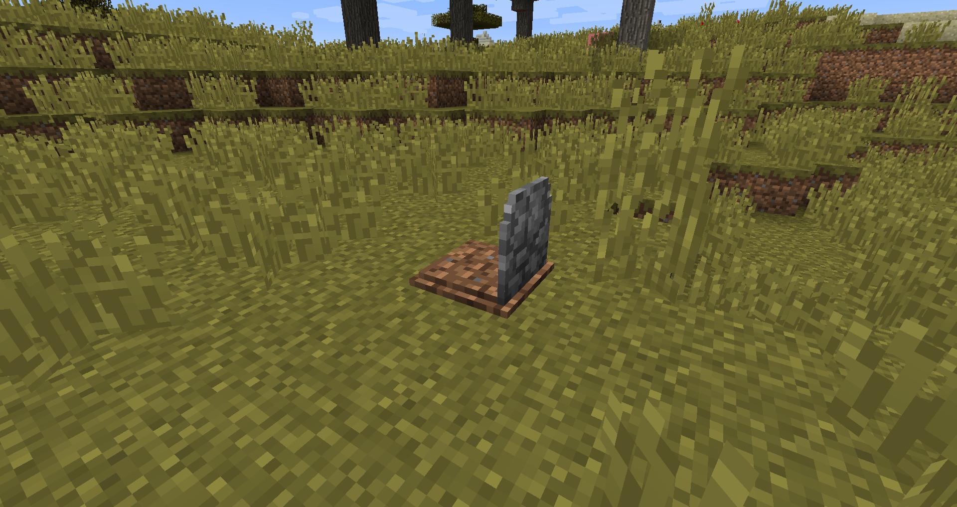 Мод на могилы после смерти
