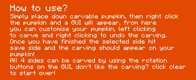 Хеллоуинский мод на Майнкрафт