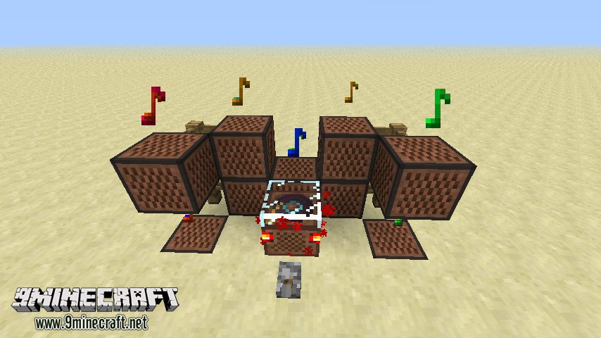 Музыкальный автомат на Майнкрафт