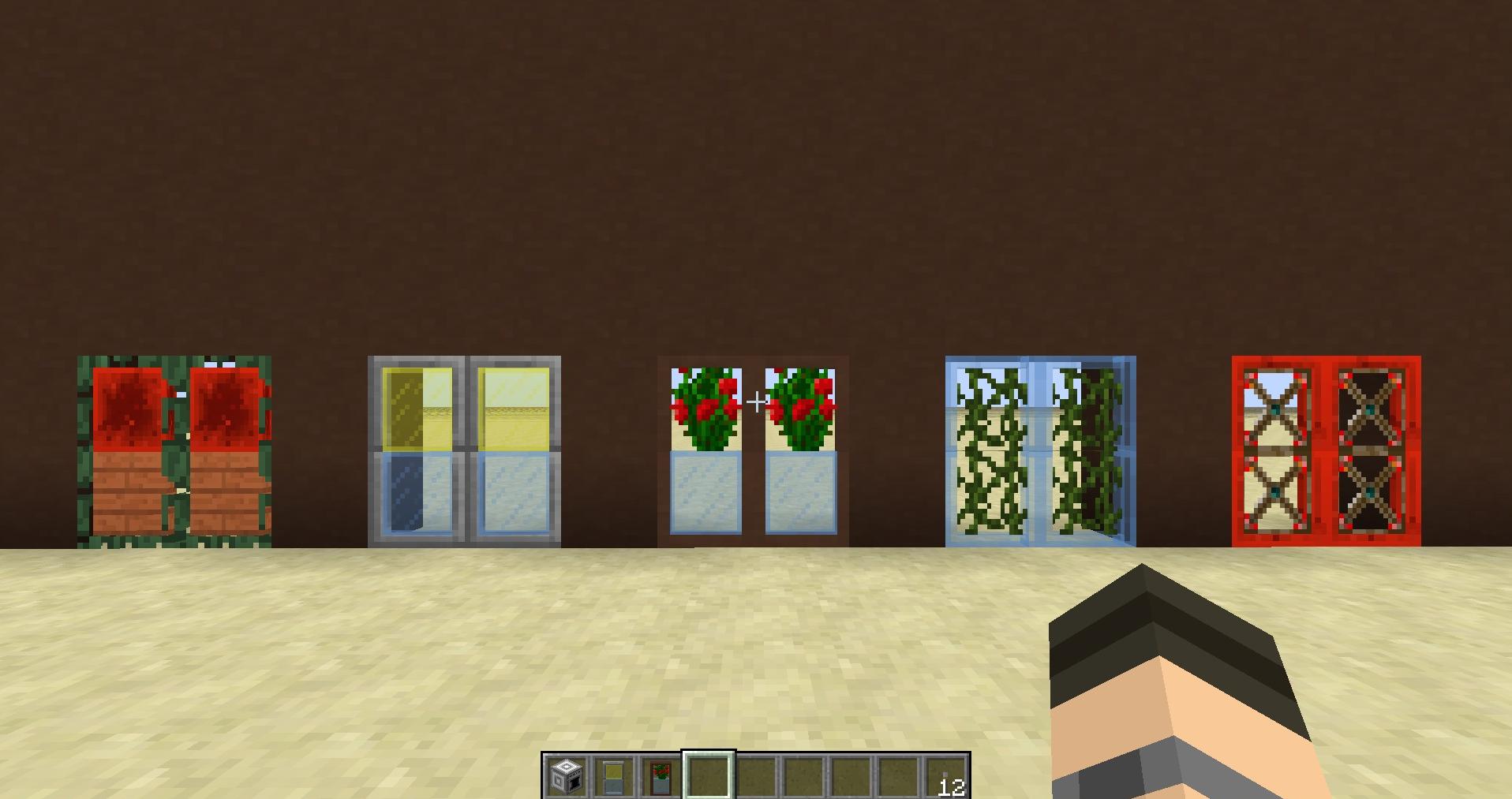 Как создать дверь в Minecraft