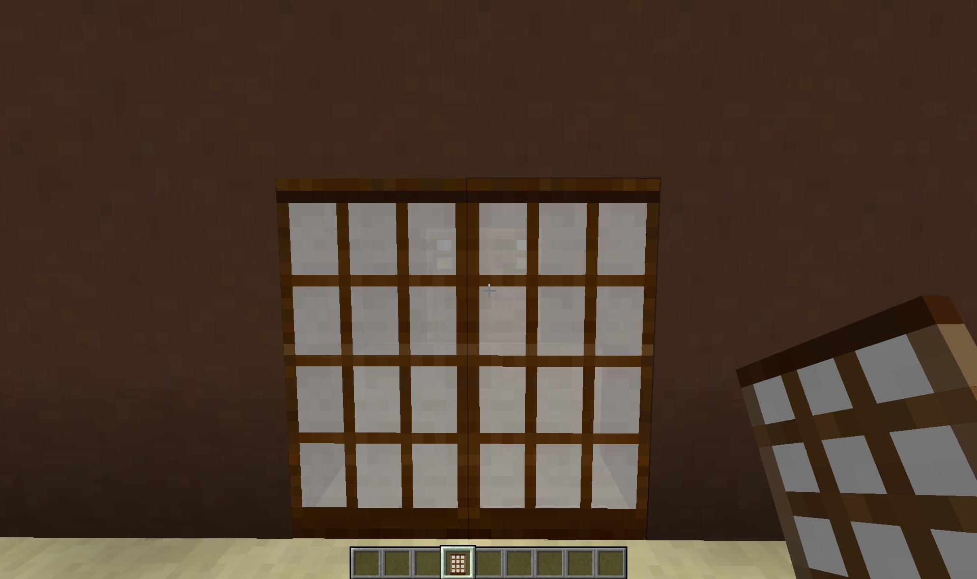 Мод на двери для Майнкрафт