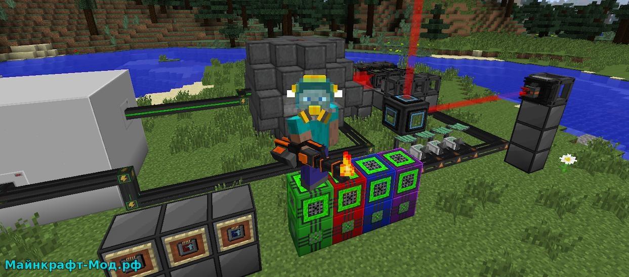 Скачать мод Mekanism для Minecraft 1.7.10 - картинка 2