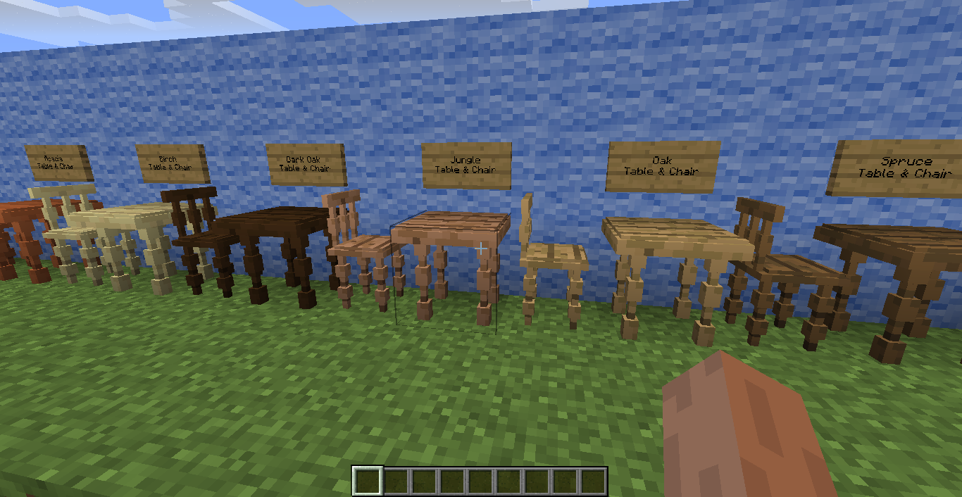 Minecraft мод на украшение дома