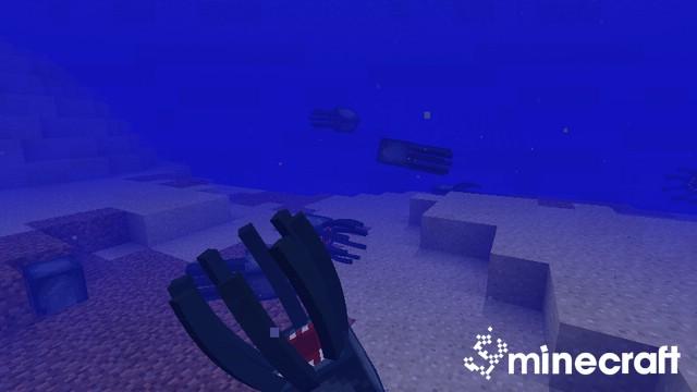 Сгибаются колена и руки в Minecraft