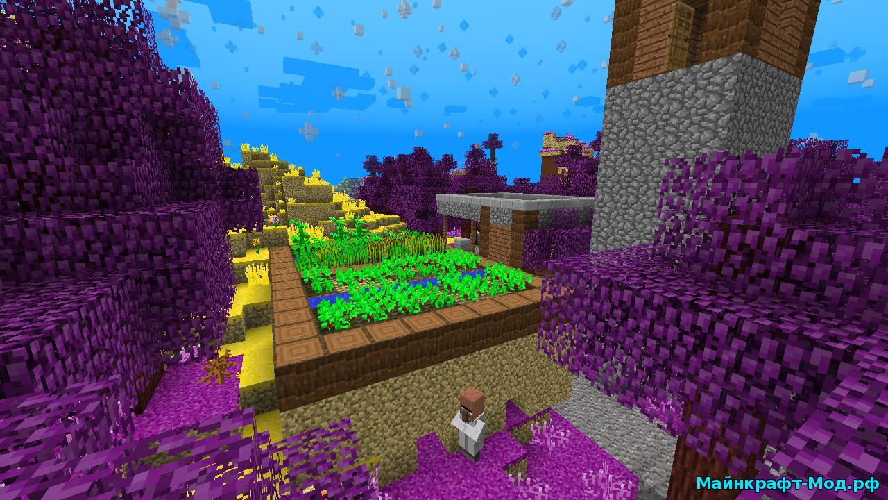 Мод на планеты для Minecraft