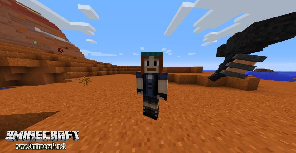 Мод Minecraft Story Mode на Майнкрафт