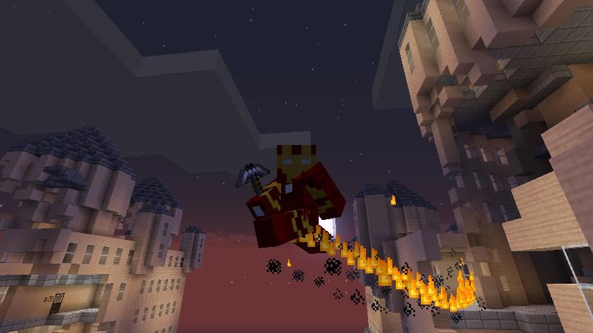 Мод на супергероев для Minecraft