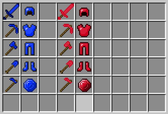 Оружие на Майнкрафт
