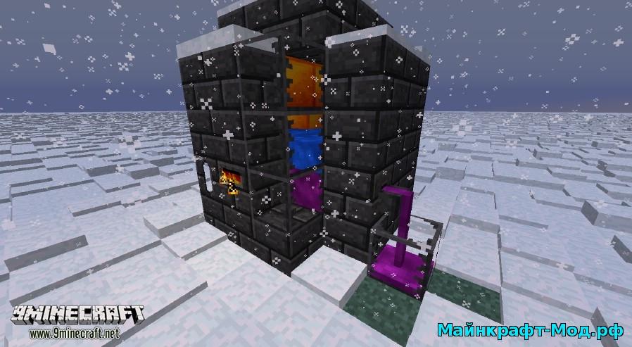 мод на новые механзимы для Minecraft