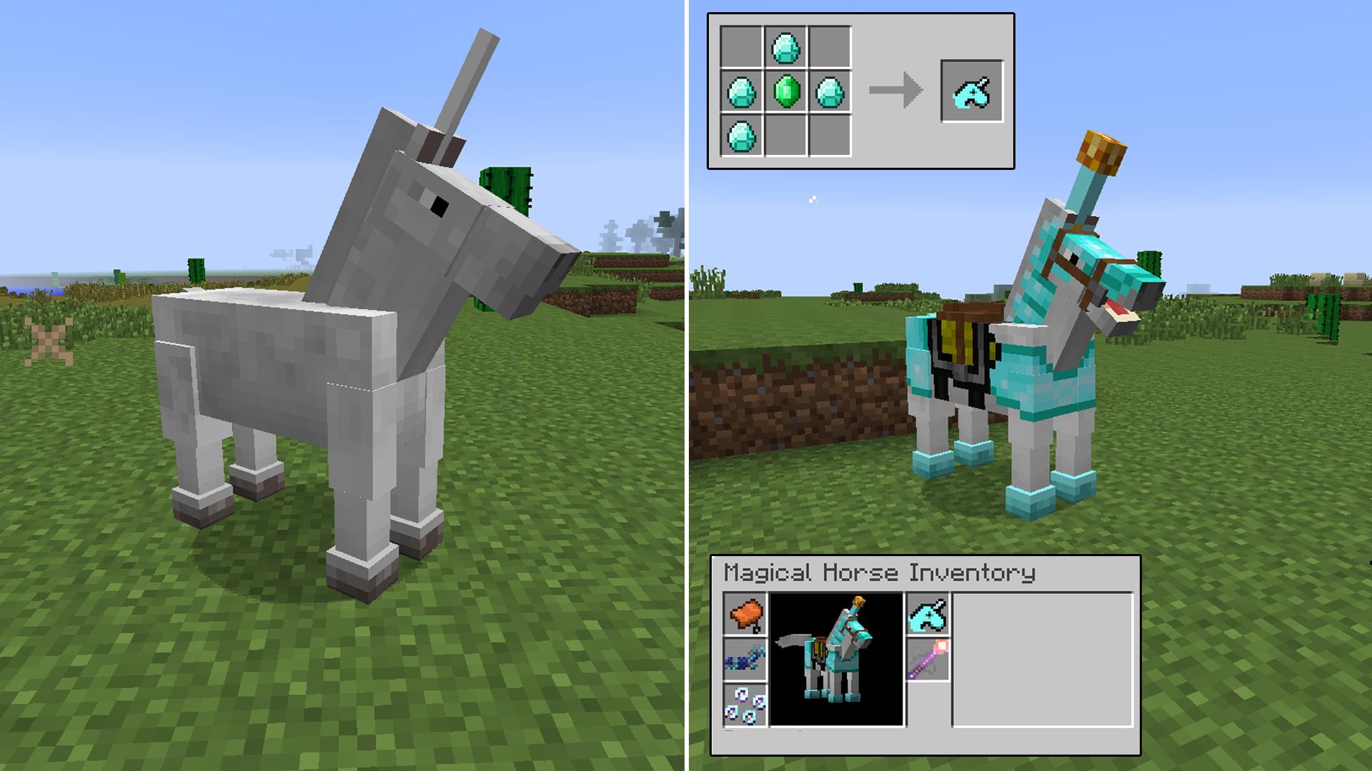 Мод Ultimate Unicorn для Minecraft 1.11.2/1.10.2/1.9.4/1.8.9/1.7.10