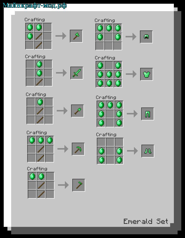 Скачать [1.5.2] CraftGuide Mod - Книга рецептов для игры в ...