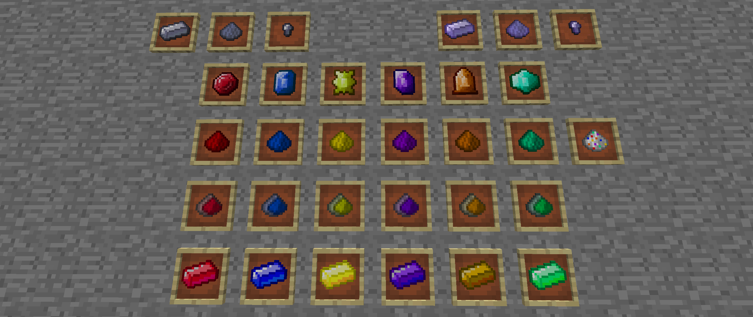 Мистическая руда в Майнкрафт