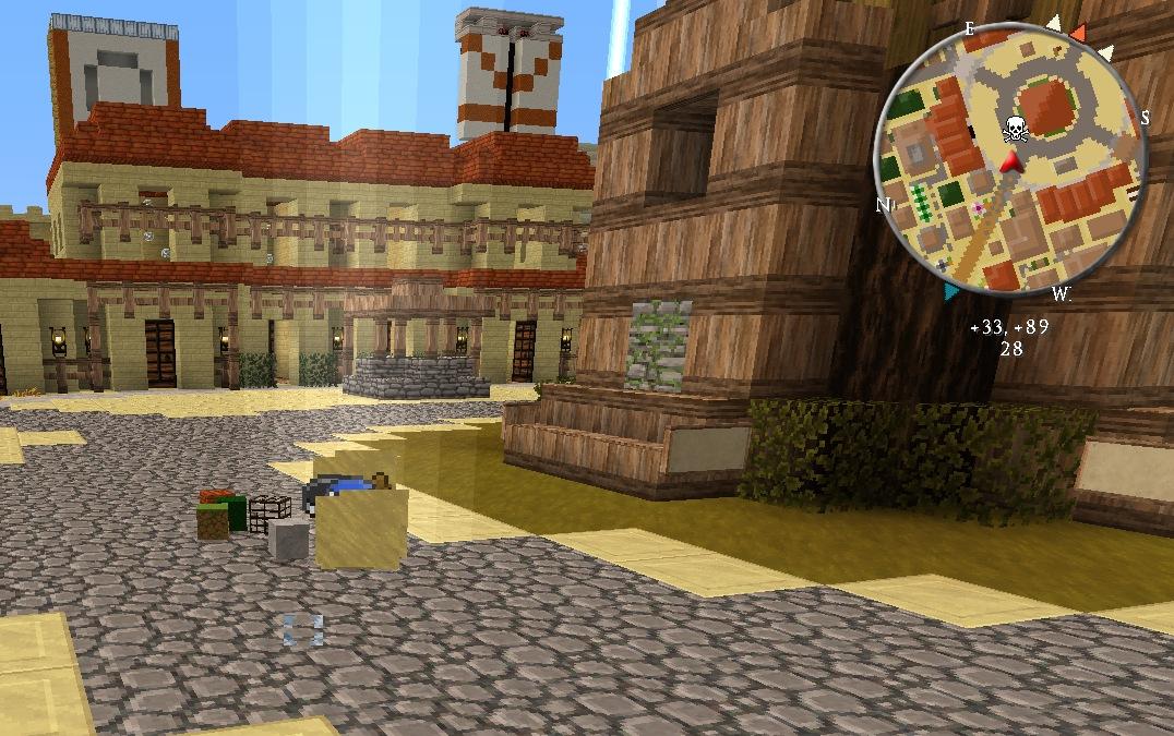 Мод на мини карту для Майнкрафт