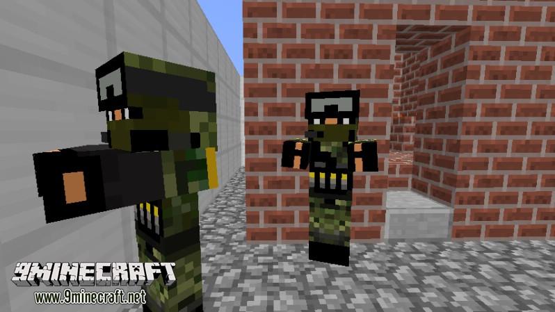 Мод зомби апокалипсис на Майнкрафт
