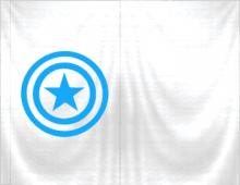 Плащ Капитан Америка для Майнкрафт