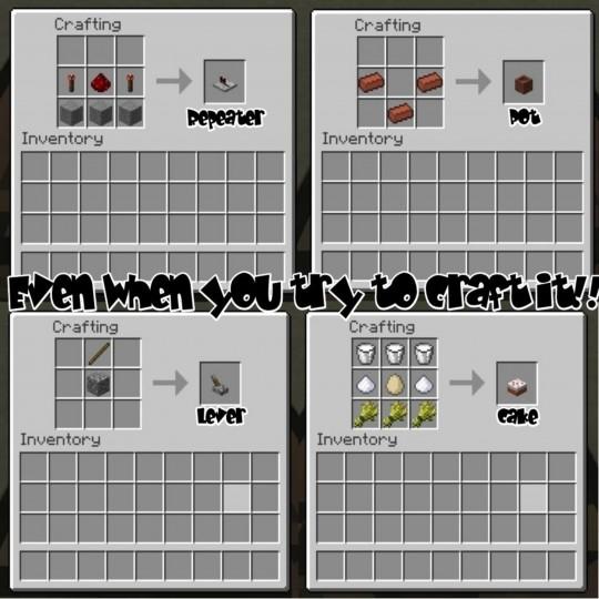 Minecraft 3D предметы
