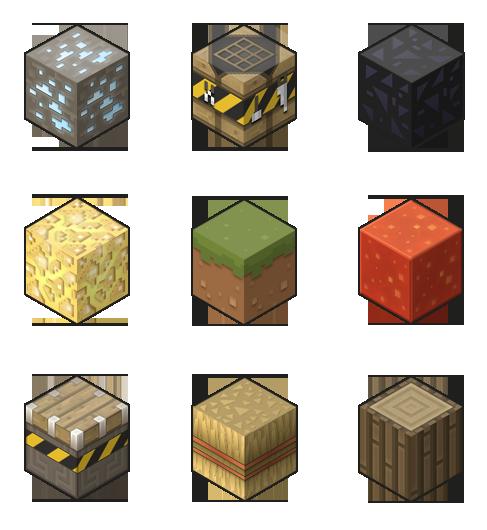 Майнкрафт пак Cubex