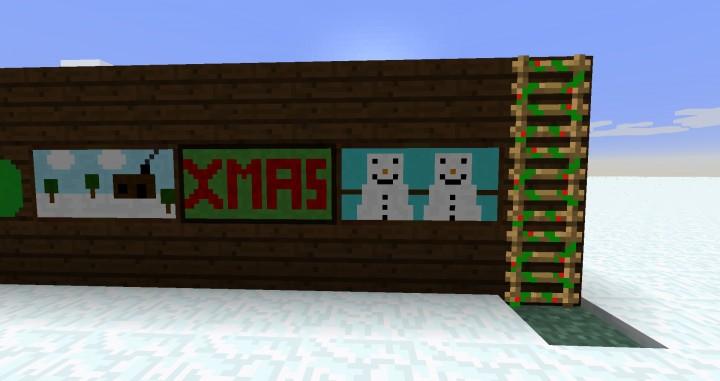 Рождественский ресурспак для Майнкрафт
