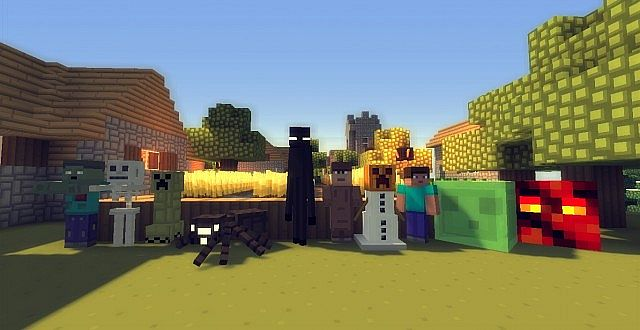 Minecraft реалистичный пак