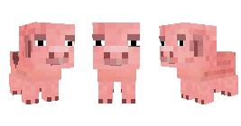 Свинка Reuben из Minecraft Story Mode