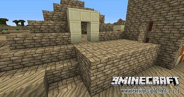 Ресурспак Средневековья для Minecraft