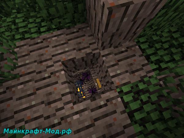 Семена Дерева шахтера в Майнкрафт